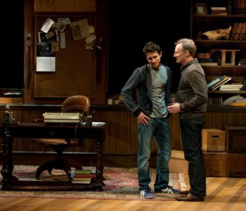 Charles Socarides and Daniel Gerroll in Teresa Rebeck's comedy.