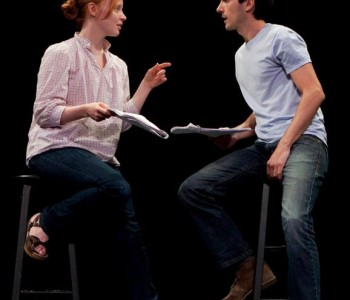 Lauren Ambrose and Charles Socarides