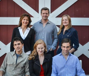 Jennifer Van Dyck, Chris Coffey, Keira Naughton, Charles Socarides, Heidi Armbruster and Jake Robards