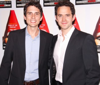 Charles Socarides and Santino Fontana, Opening Night